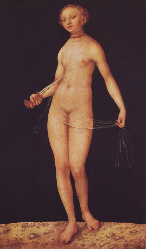 Lucretia | Lucas Cranach The Blder | oil painting