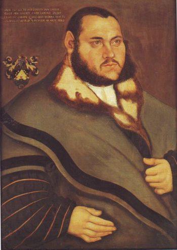 Johannes Carion | Lucas Cranach The Elder | oil painting