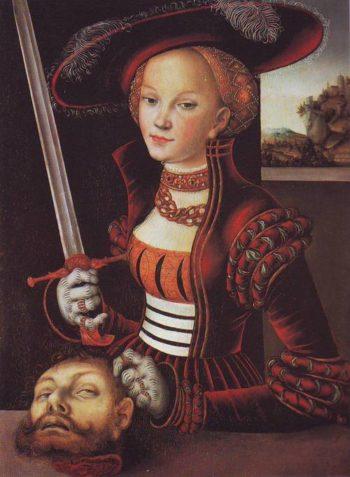Judith Victorious | Lucas Cranach The Elder | oil painting