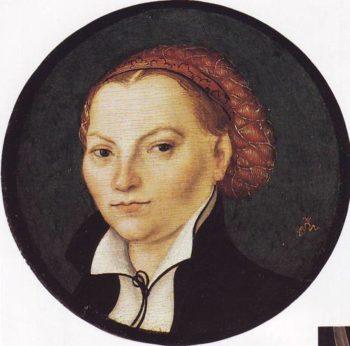 Katharina Von Bora | Lucas Cranach The Elder | oil painting