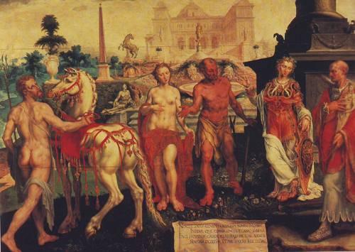 Momus Criticizes The Gods Creations | Maerten Van Heemskerck | oil painting