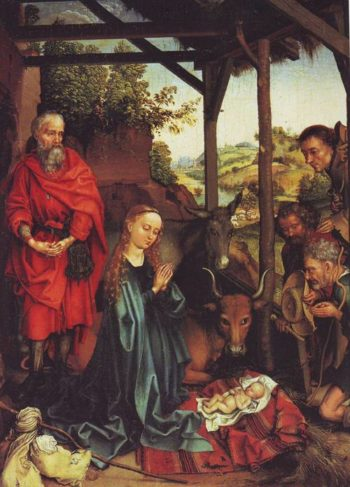 The Nativity | Martin Schongauer | oil painting