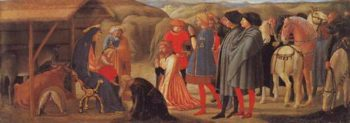 The Adoration Of The Magi | Masaccio | oil painting
