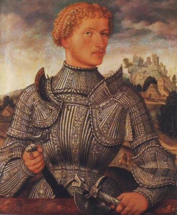A Knight Of The Rehlinger Family | Master Ls Augsburg | oil painting