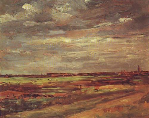 The Dunes At Noordwijk   Max Liebermann   oil painting