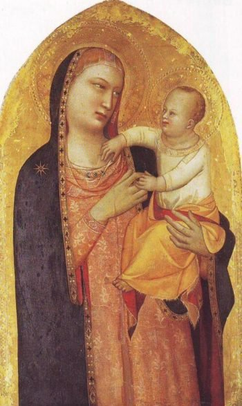 Madonna And Child | Moso Di Banco | oil painting