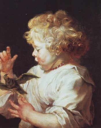 Infant With A Bird | Peter Paul Rubens | oil painting