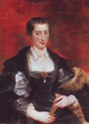 Isabella Brant | Peter Paul Rubens | oil painting