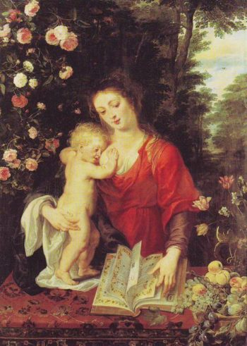 Madonna And Child | Peter Paul Rubens | oil painting