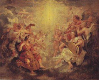 Music Making Angels | Peter Paul Rubens | oil painting