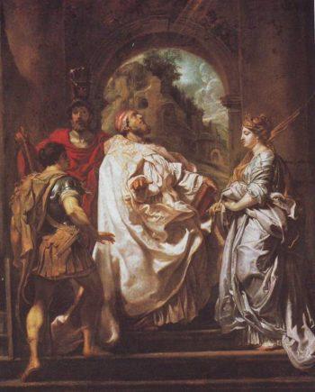 SS Gregory Maurus Papianus And Doitilla   Peter Paul Rubens   oil painting