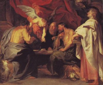 The Four Evangelists | Peter Paul Rubens | oil painting