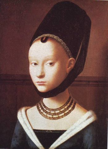 A Young Lady | Petrus Christus | oil painting