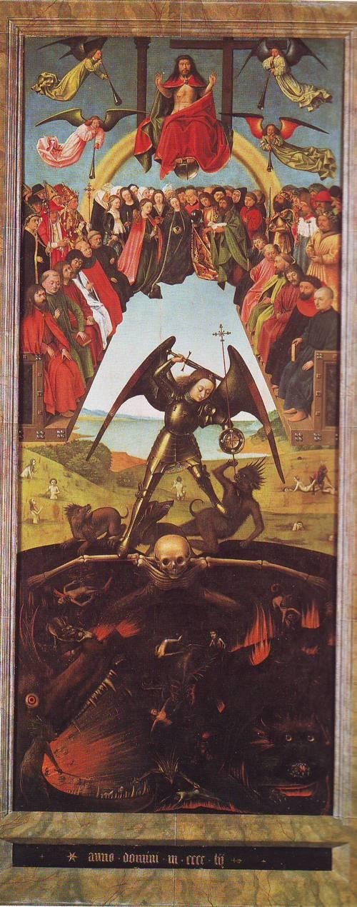 The Last Judgment   Petrus Christus   oil painting