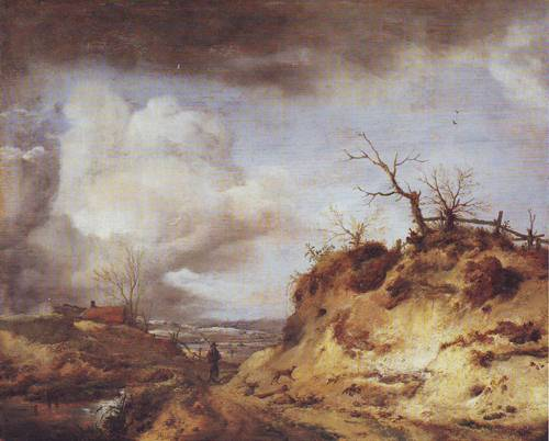 The Path Through The Dunes | Philips Wouwerman | oil painting