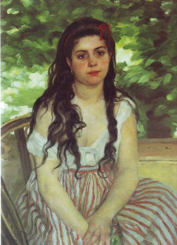In The Summer | Pierre-Auguste Renoir | oil painting