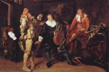 Actors'changing Room | Pieter Codde | oil painting