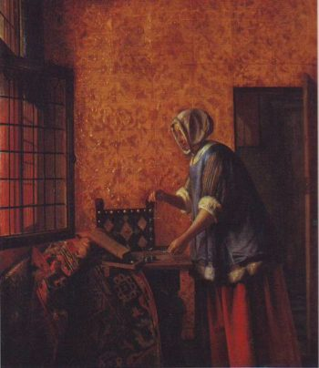 The Gold Weigher | Pieter De Hooch | oil painting