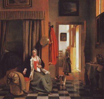 The Mother | Pieter De Hooch | oil painting