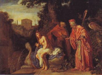 Susanna And The Elders | Pieter Lastman | oil painting