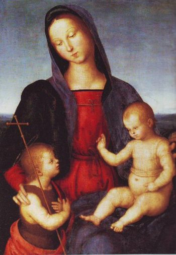 Diotalevi Madonna | Raphael | oil painting