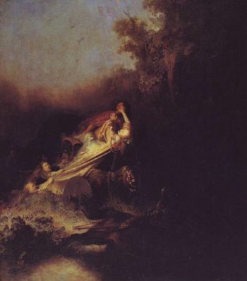The Rape Of Proserpina | Rembrandt Harmensz Van Rijn | oil painting