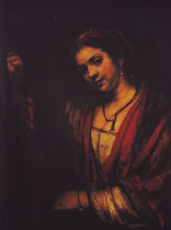 Hendrickje Stoffels | Rembrandt | oil painting