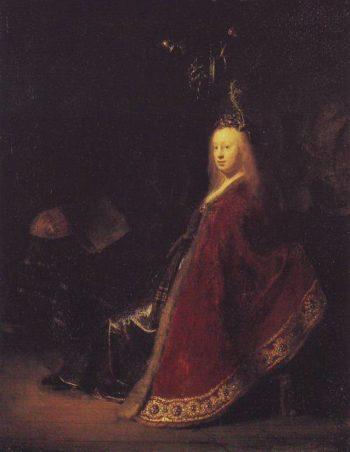 Minerva | Rembrandt | oil painting