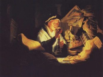 Parable Of The Rich Man | Rembrandt | oil painting