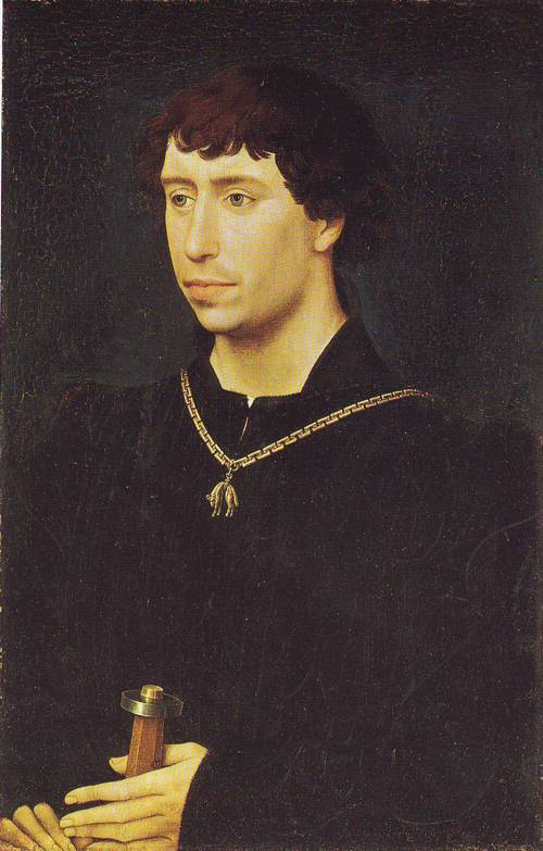 Charles Thd Bold  Duke Of Burgundy | Rogier Van Der Weyden With Workshop | oil painting