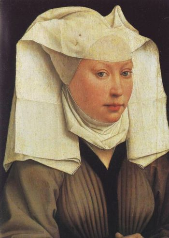 Lady Wearing A Gauze Headdress | Rogier Van Der Weyden | oil painting