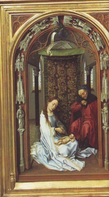 The Adoration | Rogier Van Der Weyden | oil painting