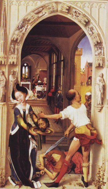 The Martyrdom Of John The Baptist | Rogier Van Der Weyden | oil painting