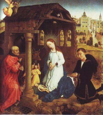 The Nativity | Rogier Van Der Weyden | oil painting