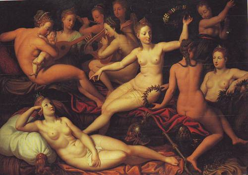 Allegory Of The Birth Of The Dauphin | Rrench | oil painting