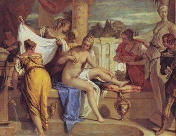 Bathsheba | Sebastiano Ricci | oil painting