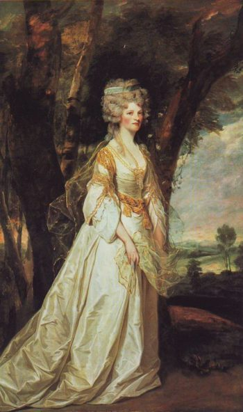 Lady Wunderlin | Sir Joshua Reynolds | oil painting