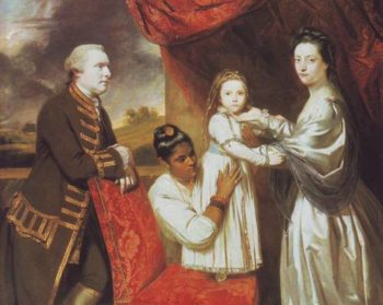 Lord George Clive And His Family With An Indian Servant | Sir Joshua Reynolds | oil painting