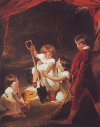 The Angerstein Children | Sir Thomas Lawrence | oil painting