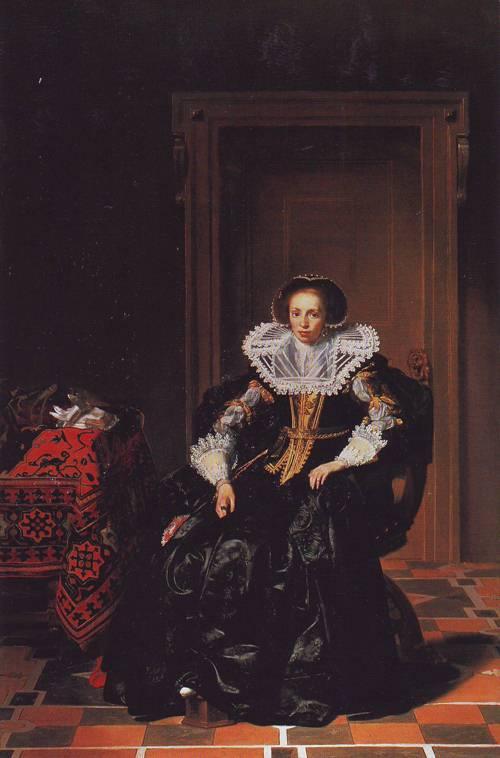A Lady | Thomas De Keyser | oil painting