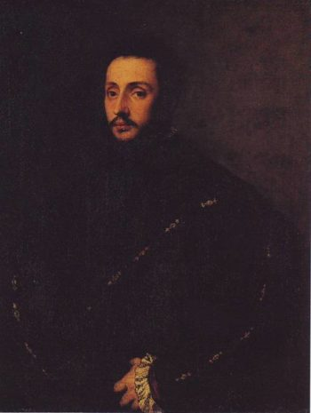 A Bearded Young Man | Titian | oil painting