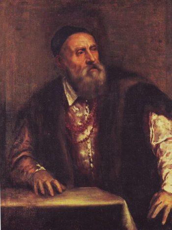 Self Portrait | Titian | oil painting