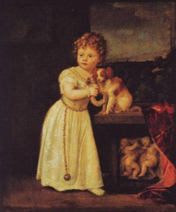 Clarissa Strozzi | Tiziano Vecellio | oil painting