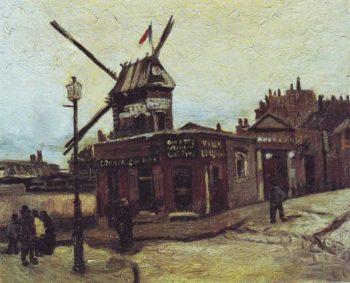 The Moulin De La Galette | Vincent Van Gogh | oil painting