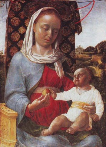 Madonna And Child | Vincenzo Foppa | oil painting