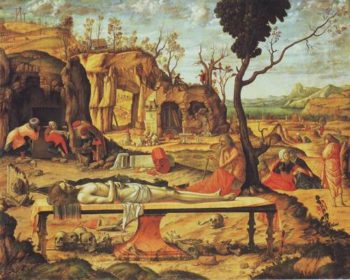 The Entombment | Vittore Carpaccio | oil painting