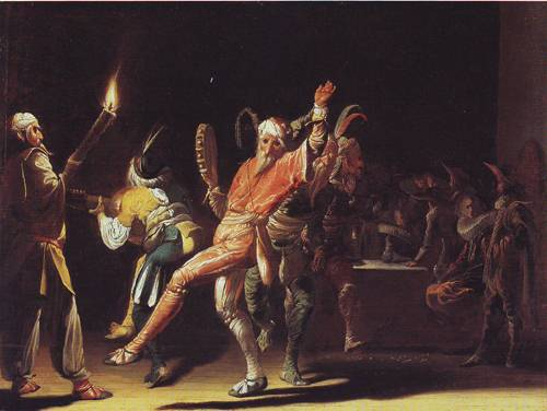 Carnival Clowns | Willem Cornelisz Duyster | oil painting