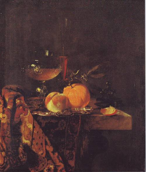 Still Life With Class Goblet And Fruit | Willem Kalf | oil painting