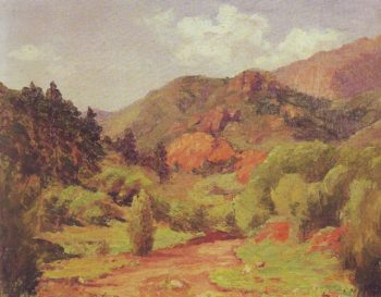Near Colorado Springs | Ada B Caldwell | oil painting