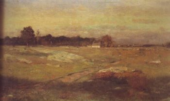 Dartmouth Moorlands | Dwight W Tryon | oil painting